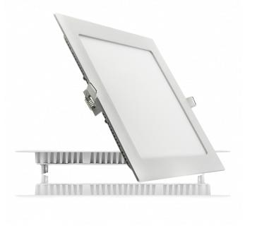 Купить Потолочный светодиодный светильник квадратный 12W 3000K BIOM