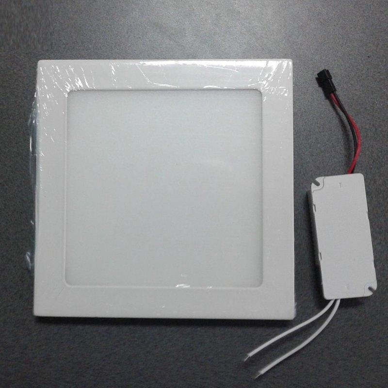 Купить Потолочный светодиодный светильник квадратный ABS 15W 6500K Lemanso