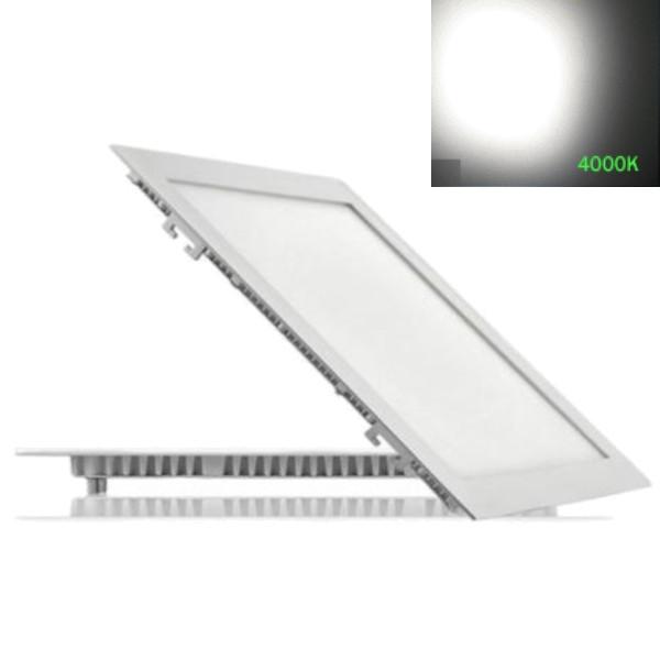 Купить Потолочный светодиодный светильник квадратный ABS 24W 4500K Lemanso