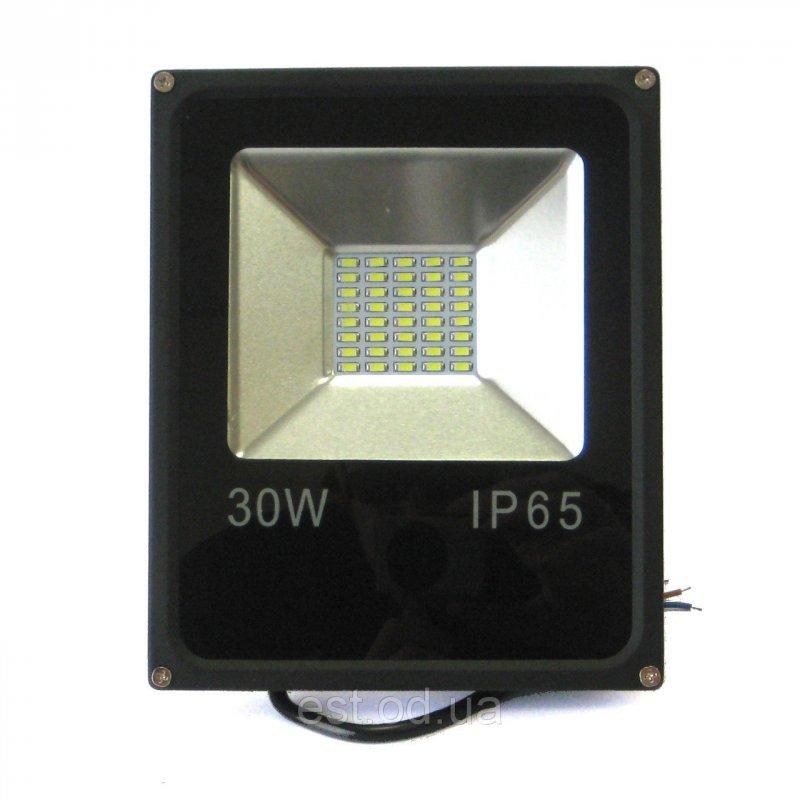 Купить Прожектор светодиодный 30w 6500K IP65 slim SMD2835 премиум