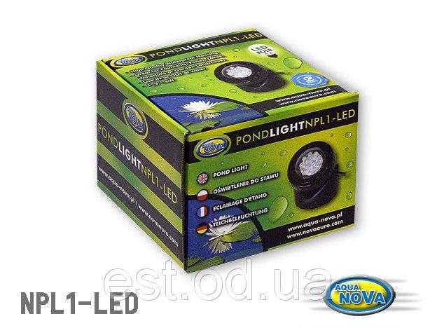 Купить Светодиодная подсветка пруда 1,6 Вт. с датчиком освещенности AquaNova NPL1