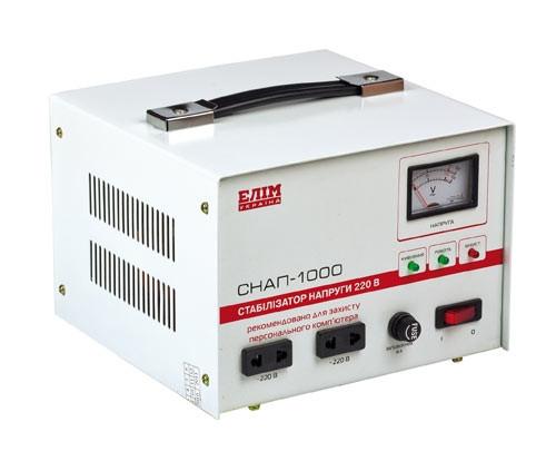 Купить Стабилизатор напряжения СНАП-1000 Элим Украина (для компьютера и бытовой техники)
