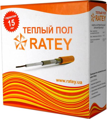 Купить Теплый пол одножильный нагревательный кабель (1,3м²-2,5м²) RATEY 0,25КВт