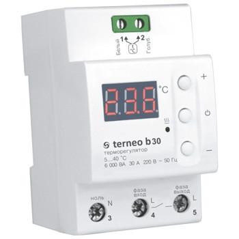 Купить Терморегулятор для теплого пола 30А terneo b30