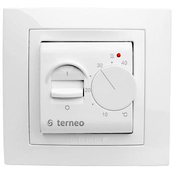 Купить Термостат с ограничителями регулировки для теплого пола terneo mex unic