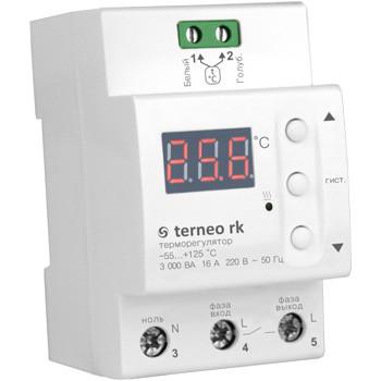 Купить Цифровой терморегулятор для электрических котлов terneo rk