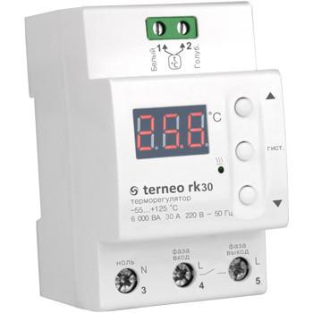 Купить Цифровой терморегулятор для электрических котлов terneo rk30