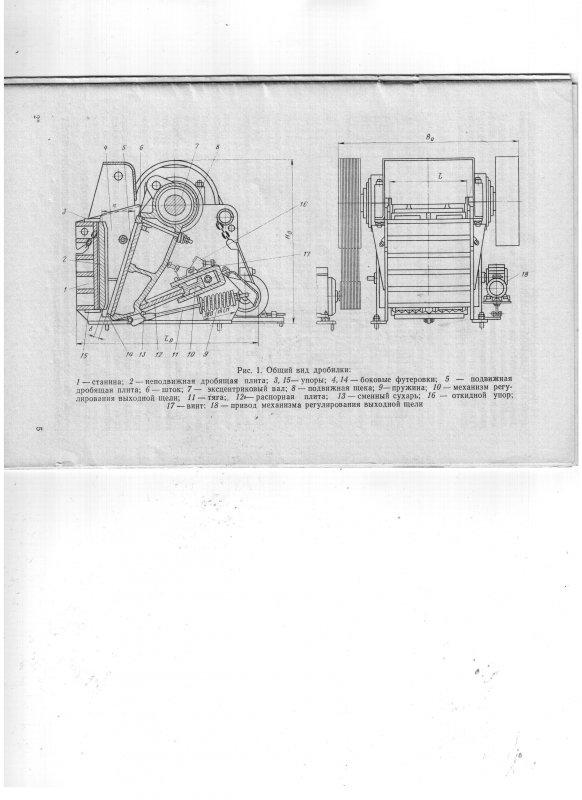 Купить Дробилка щековая СМД108А