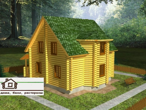 Купить Дикий сруб проект дома