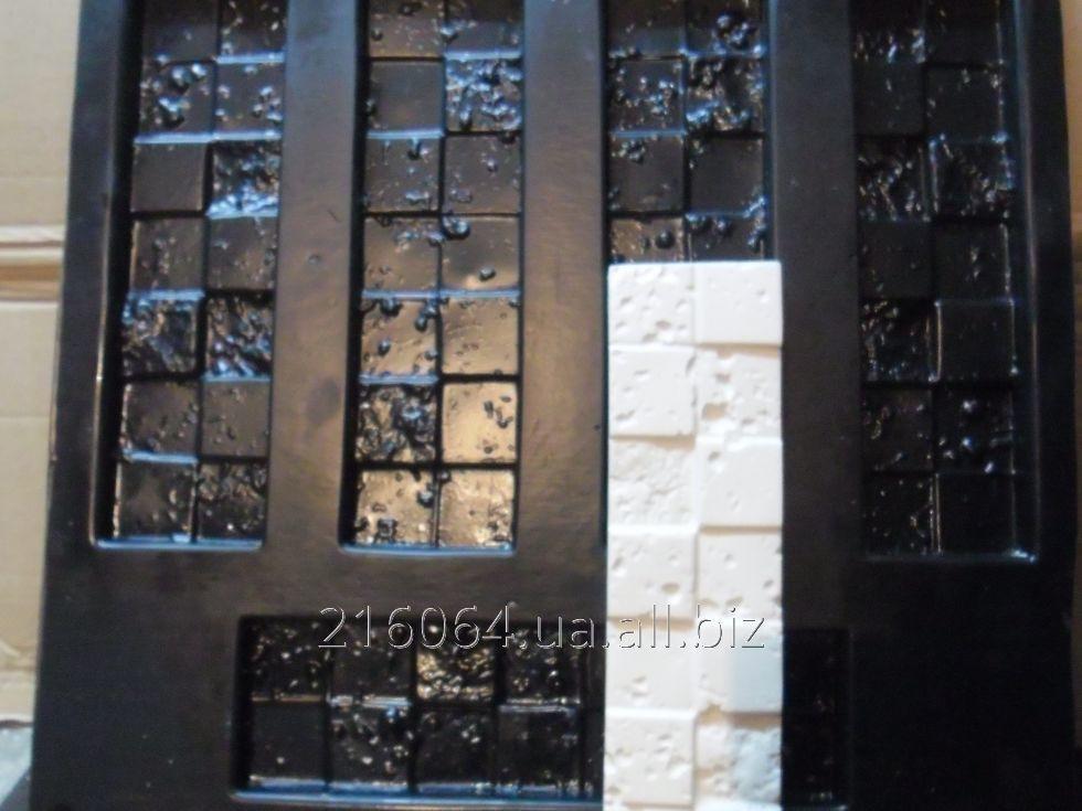 La forma para la piedra decorativa y la baldosa de fachada. La Corsega