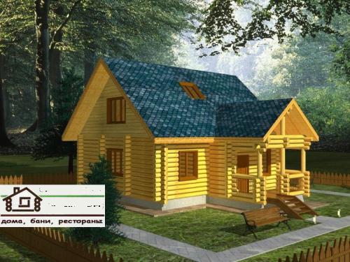 Частные дома деревянные площадью 110 м2