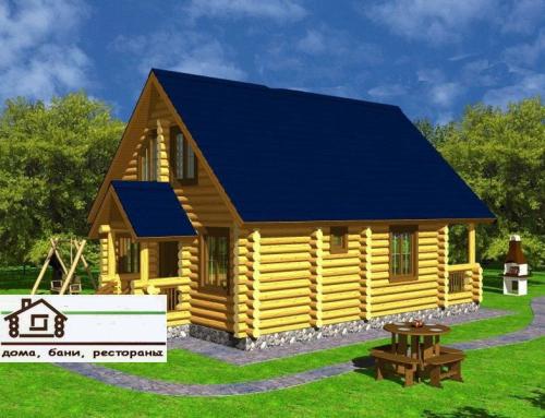 Купить Деревянные дома под ключ