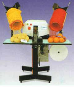 Машина для упаковки овощей и фруктов в сетку IGEMSA, оборудование для фасовки овощей и фруктов