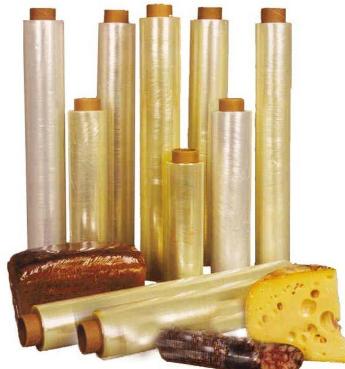 Пленки упаковочные для товаров, продуктов питания, стрейч пленка