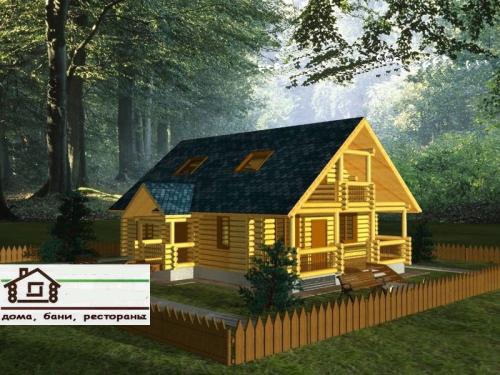 Загородний домик для отдыха
