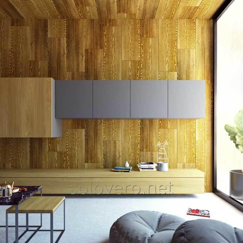 Lajes decorativas para as paredes