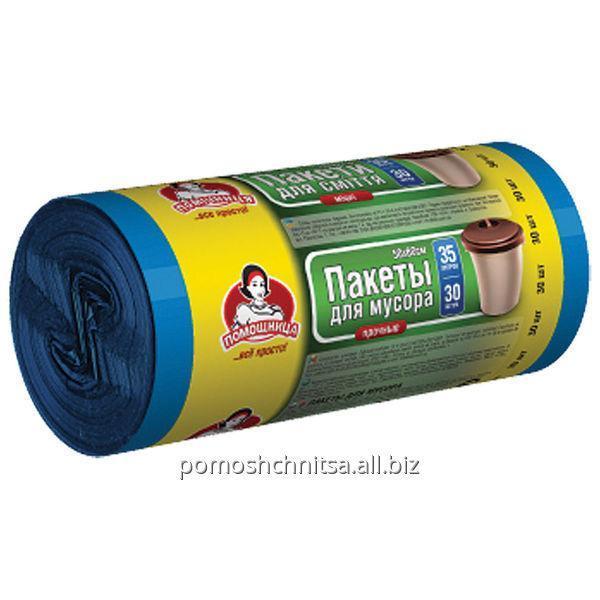 Пакеты для мусора TM Помощница 35л. 30шт.