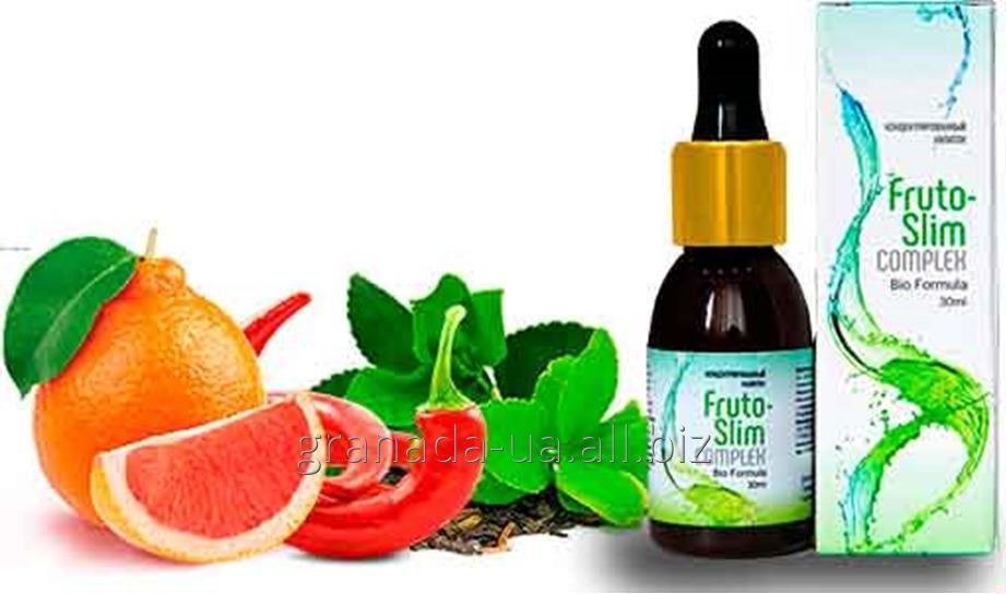 Капли для похудения Fruto-Slim Complex Фруто-Слим Комплекс