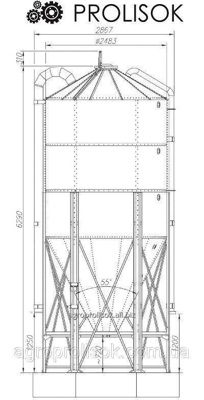 Buy Silo of giving of a forage of 13,9 t, 18.6 m3