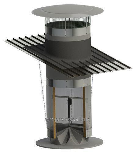 Комины вентиляционные, шахты вентиляционные