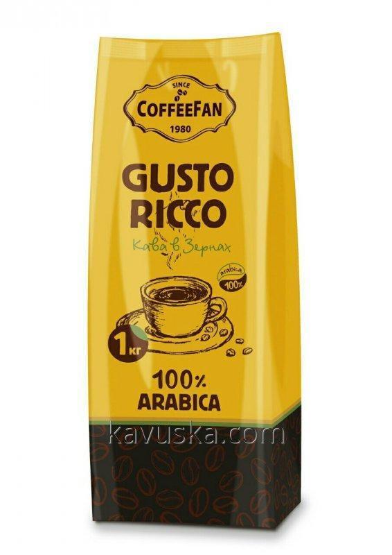 "Coffee ""CoffeeFan"" Custo RICCO 1kg grain"