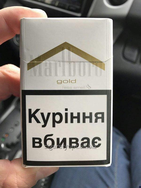 Malboro's cigarettes gold