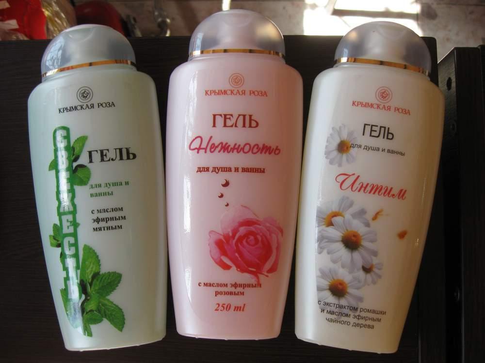 Косметика крымская роза в феодосии