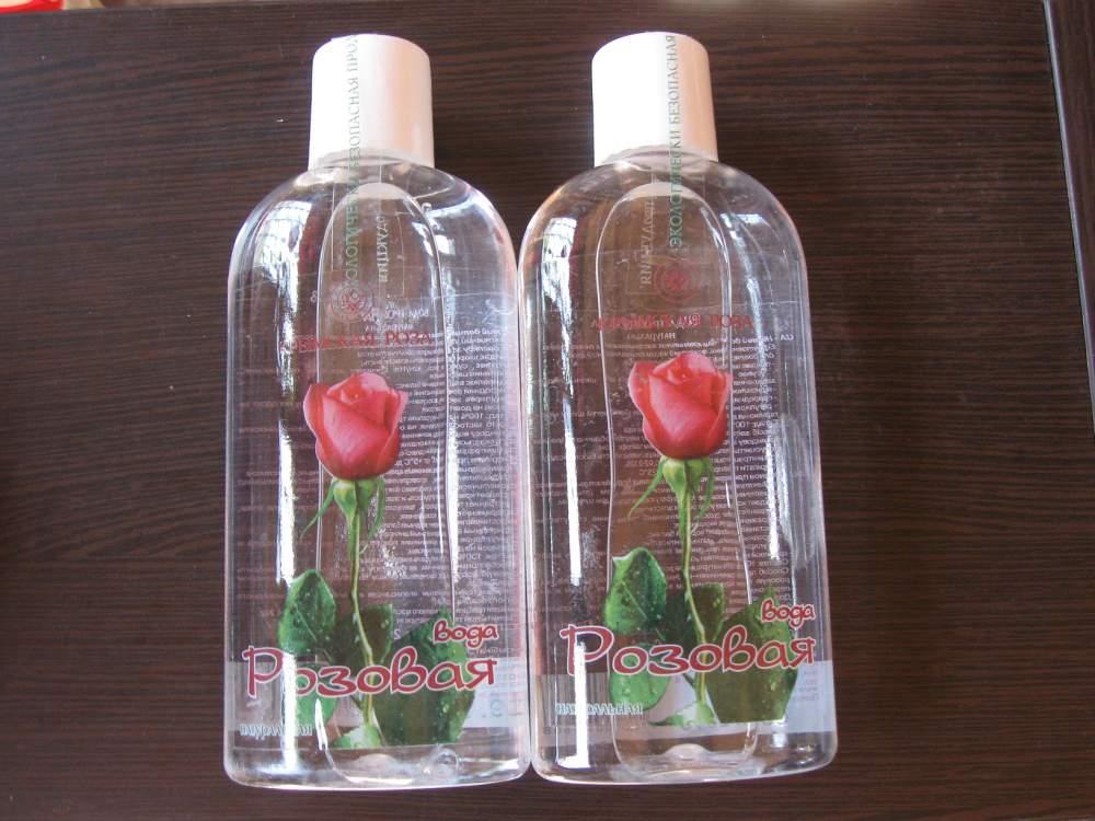 Розовая вода крымская роза