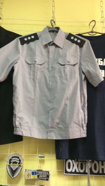 Рубашка Полиция с коротким рукавом