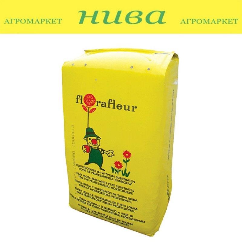 Купить ФлораФлор (FloraFleur) торфяний субстрат фракция 0-8 мм Італія 320 л