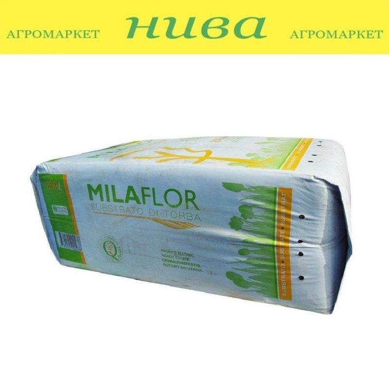 Купить МілаФлор торфяний субстрат фракція 0-5 мм Литва 250 л