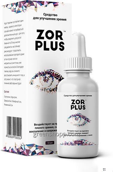 Средство от проблем со зрением Zor Plus Зор Плюс