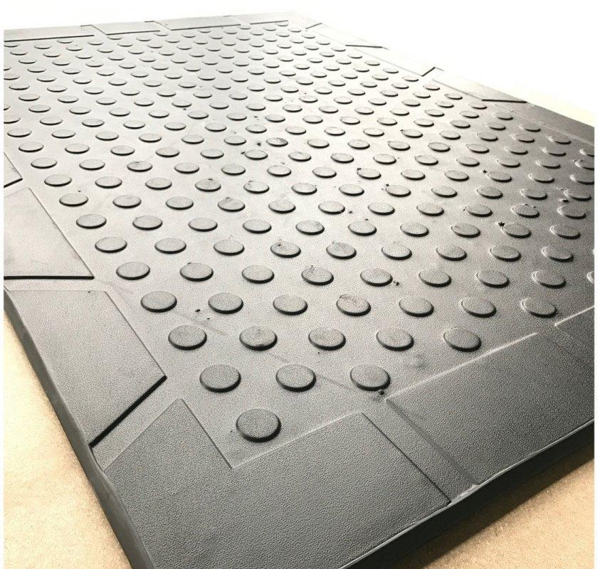 "Buy Mat laying for livestock production of EVA-Line ""Burenka"" of black 180*125*2.5 cm"