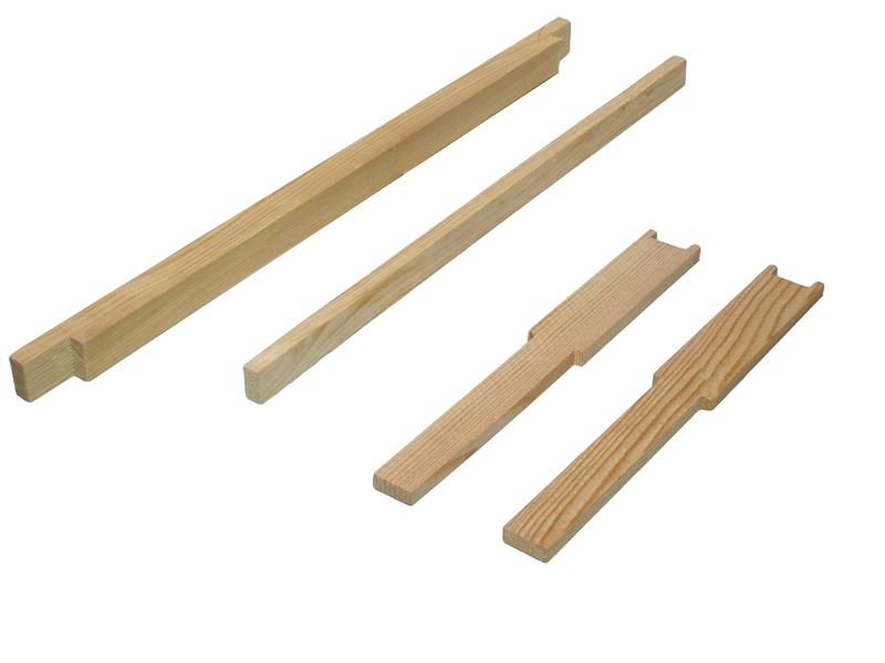 Рамка для ульев 435Х300 мм, с разделителем, верх 25Х20