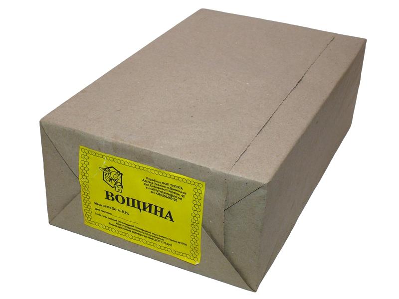 Вощина упаковка 5 кг