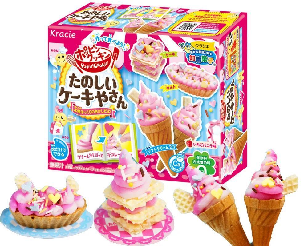 """Купить Японский набор """"Сделай сам"""" Kracie Popin Cookin Ice Cream Мороженное 27g"""