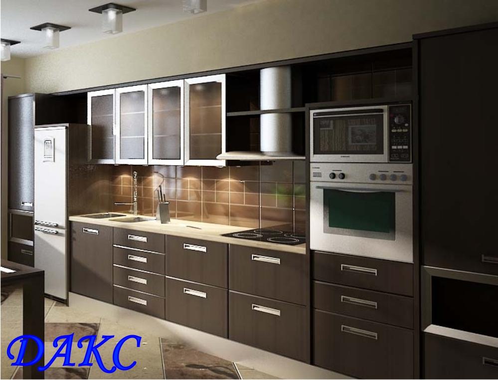 Кухни с пленочными фасадами кухни от