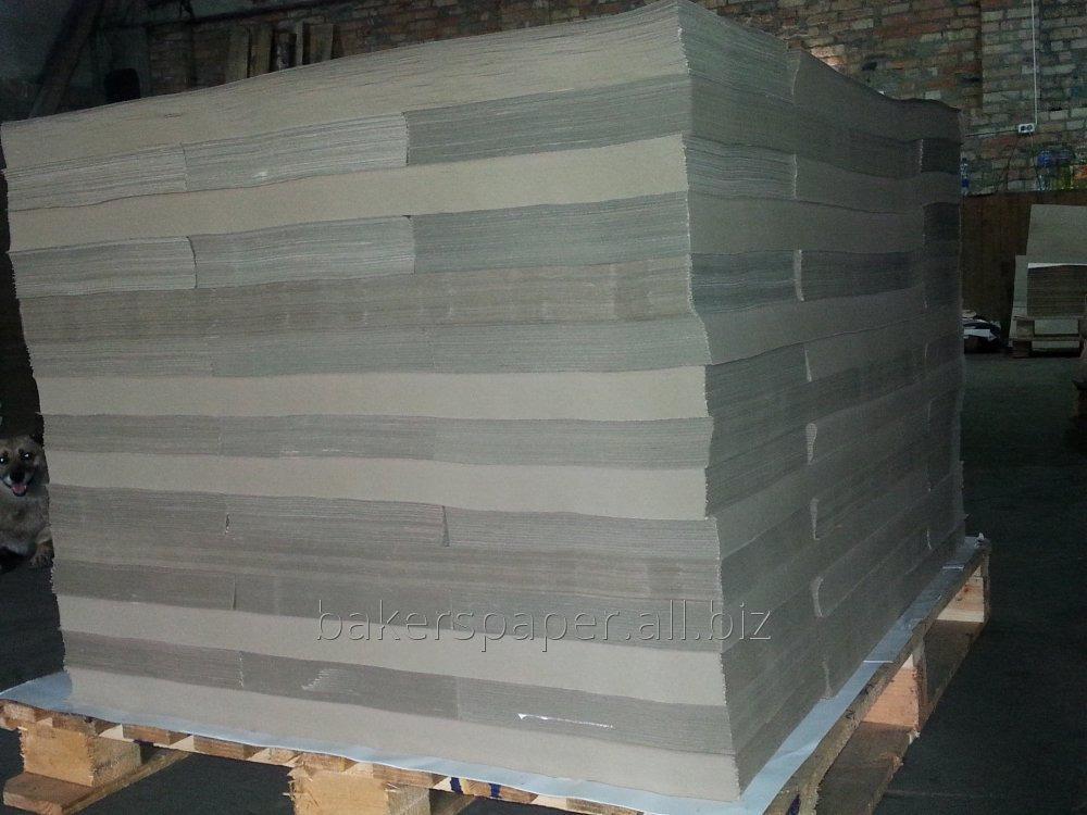 Оберточная бумага, марка Е, ф. 84-170 см, пл. 60-100 г/м2