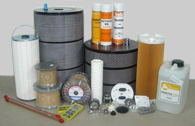 Spare parts and expendables for electroerosive machines