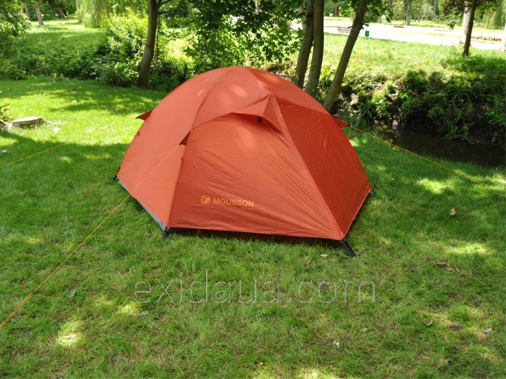 Купить Палатка туристическая MOUSSON DELTA 2 AL AMBER