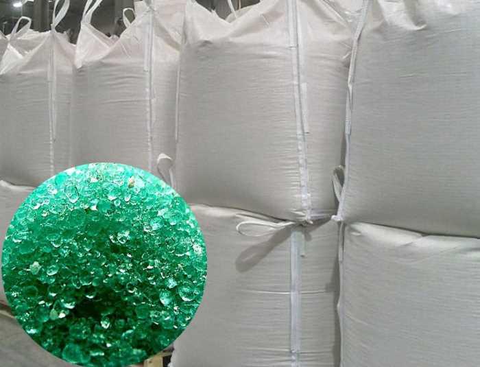 Buy Iron vitriol, iron (II) sulfate. Big-beg on 1 ton. FeSO4