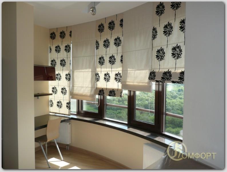 Рулонные шторы из ткани своими руками фото