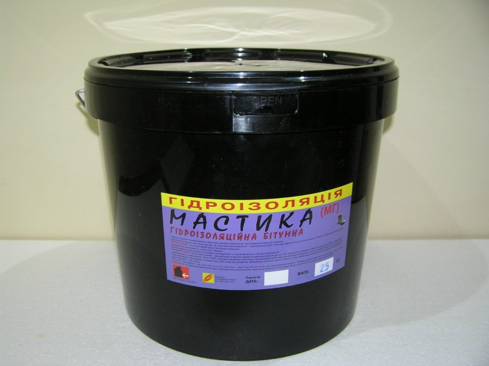Buy Mastic waterproofing bituminous (MG)