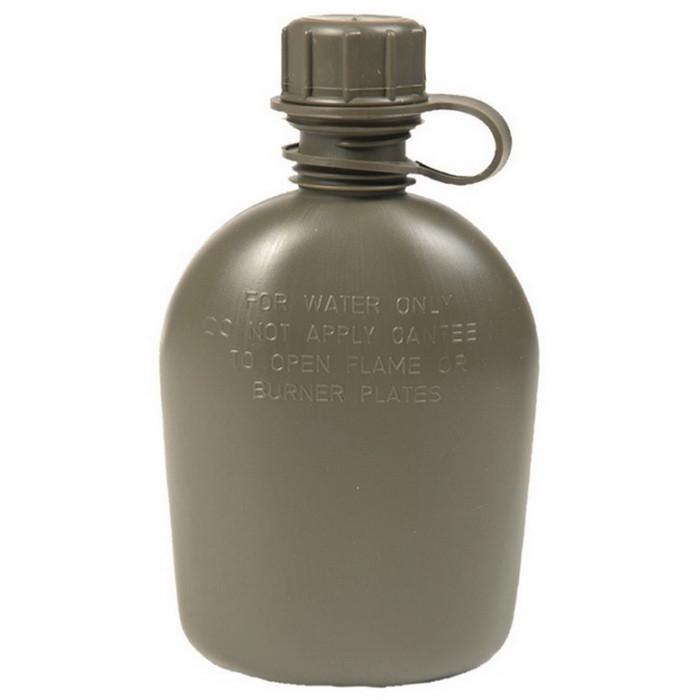 Фляга НАТО 1,0 л Mil-Tec олива