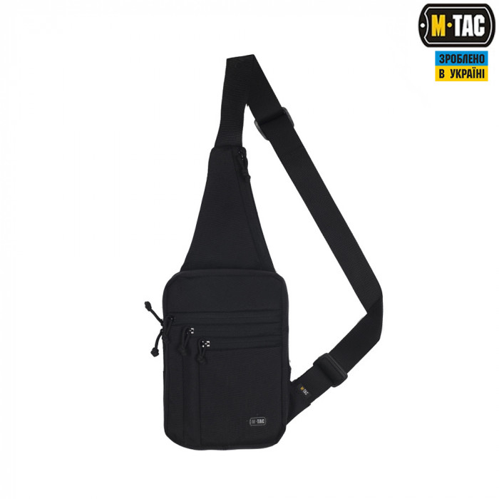 Buy Bag through a shoulder for the hidden carrying weapon of M-Tac Gen 3 black 10035902
