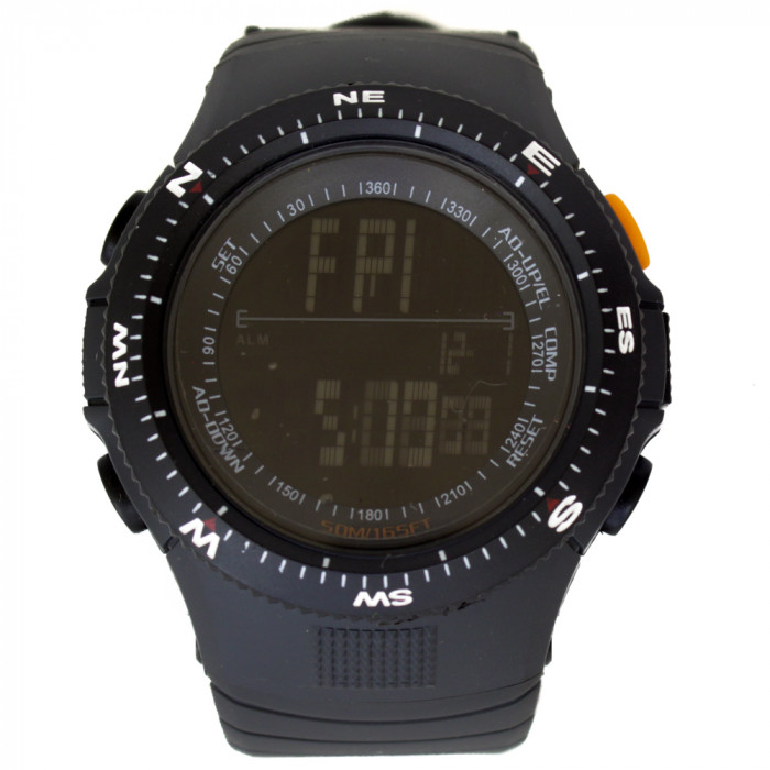 Часы тактические США Water Resistant 5 atm черные