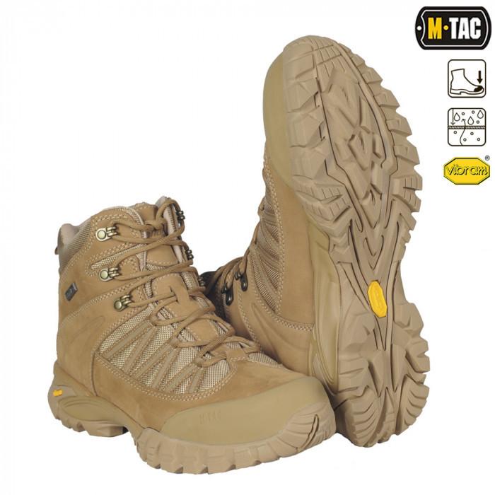 Ботинки тактические M-TAC Nashorn койот