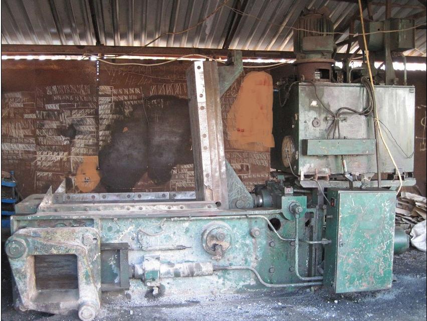 Купить Пресс для переработки металлолома БА1330А Усилием 100тонн.