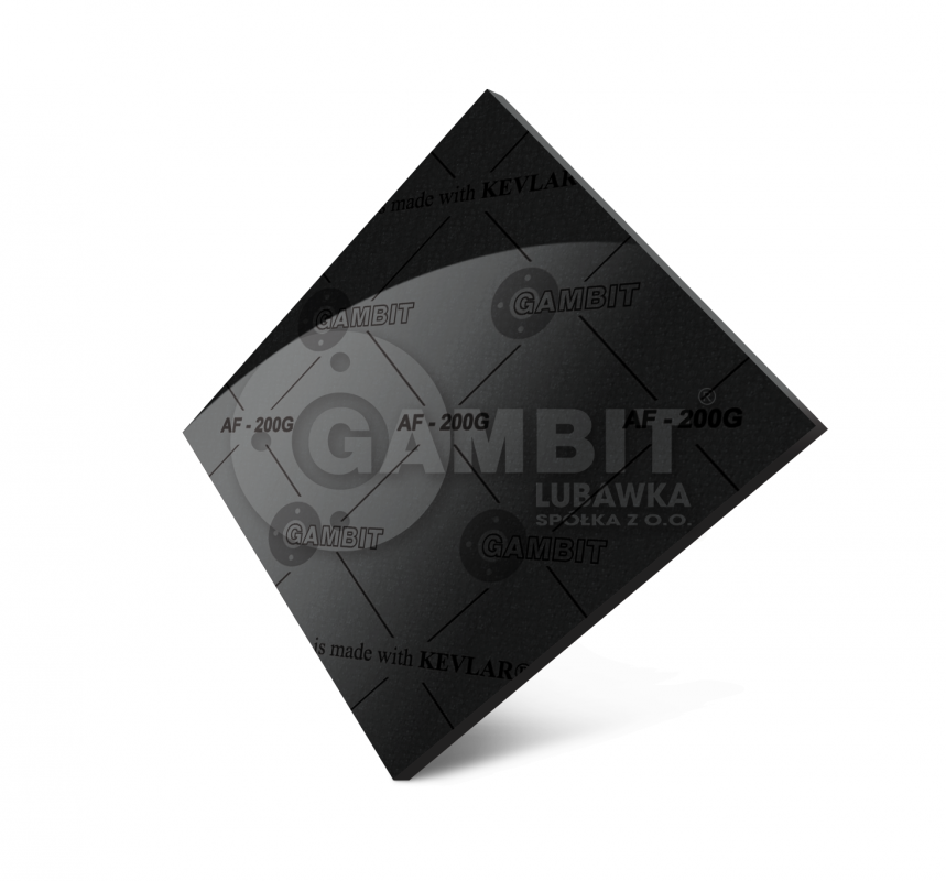 BEZASBESTOVY PARONITE of Gambit AF-200G