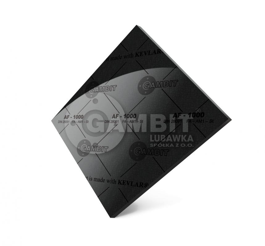 БЕЗАСБЕСТОВЫЙ ПАРОНИТ Gambit AF-1000 (аналог-паронита общего назначения ПА)